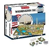 4D Washington DC Cityscape Time Puzzle (4D Cityscape)