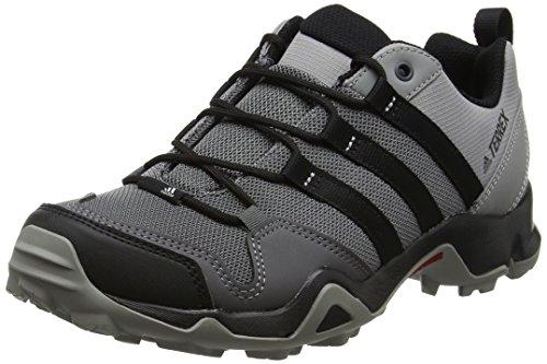 adidas Men's Terrex AX2R Shoes Granite/Black/Charcoal Solid Grey 9