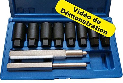 AFD67 TECHNIC Extracteur d'écrou antivol de Roue Universel