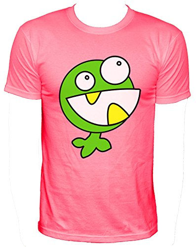 NEON Herren T-Shirt fleichfressende Pflanze_neonpink_S