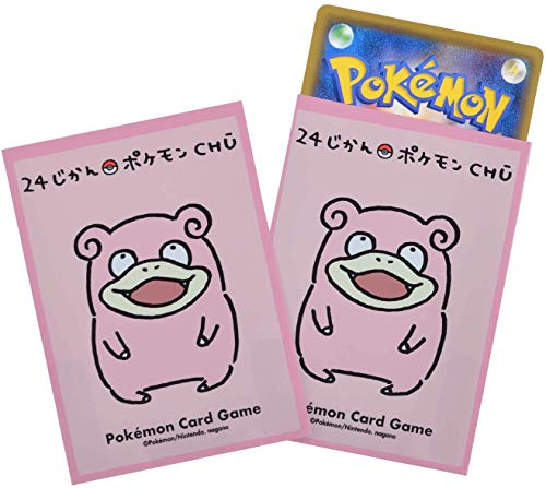 Pokemon 64ct Deck Shield Card Sleeves Pokemon Chibi Slowpoke