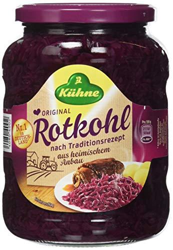 Kühne Rotkohl - Original, 12er Pack (12 x 720 ml)