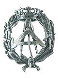 Alylosilver Insignia Profesional de Arquitecto Tecnico Aparejador Pin para Hombre Mujer en Plata 925 con Caja para Regalo.