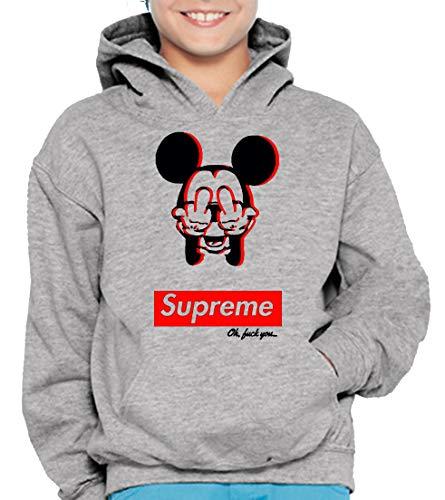 The Fan Tee Sudadera NIÑOS Divertidas Mickey Supreme