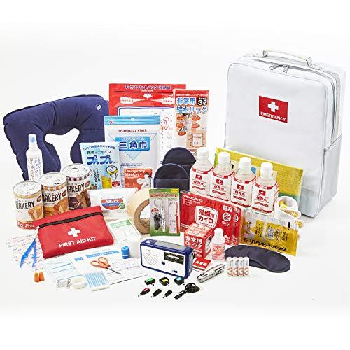 防災セット 地震対策30点避難セット 避難生活で必要な防災グッズをセットした非常持出袋
