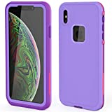 XYYJX iPhone Xs max case Waterproof dustproof Built-in Screen Protector Suitable for Daily and Harsh Environment use