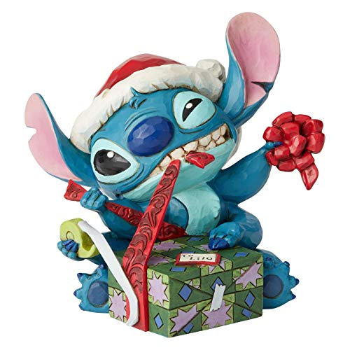 Disney Traditions Figurine, Christmas Stitch
