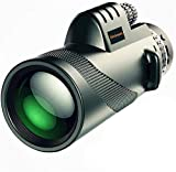 Divinext 40X60 Outdoor Portable Monocular Telescope for Outdoor Travel,Camping,Sighting