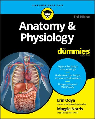 Compare Textbook Prices for Anatomy & Physiology For Dummies For Dummies Math & Science For Dummies Lifestyle 3 Edition ISBN 9781119345237 by Odya, Erin,Norris, Maggie A.