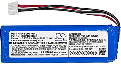 6000mAh Replacement Battery for JBL Charge 3 New Version