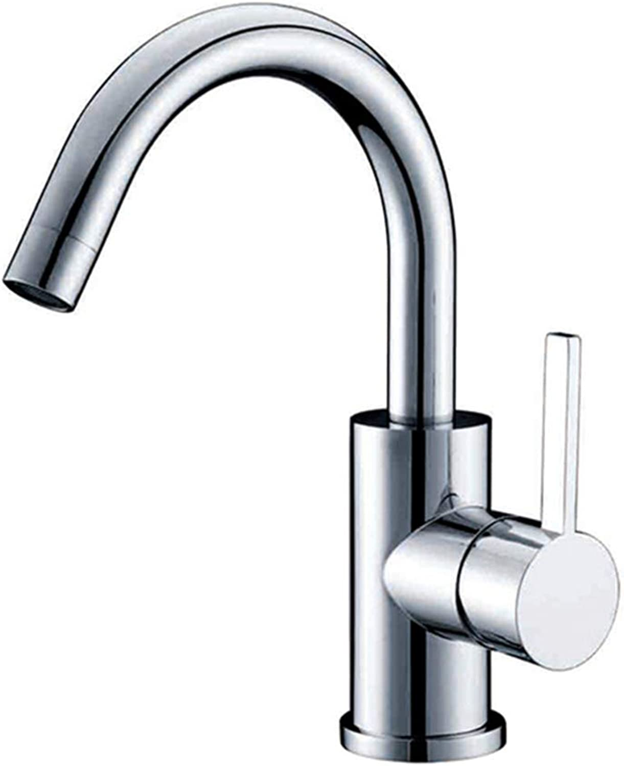 WETRR Kitchen faucet, Single Handle One Hole Standard Spout Contemporary Kitchen Taps, Sink Bathtub Bathroom faucet Sets