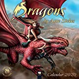 Dragons by Anne Stokes Wall Calendar 2020 (Art Calendar)