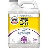 Purina Tidy Cats Light Weight, Low Dust, Clumping Cat Litter, LightWeight Glade Clean Blossoms Multi Cat Litter - 6 lb. Jug