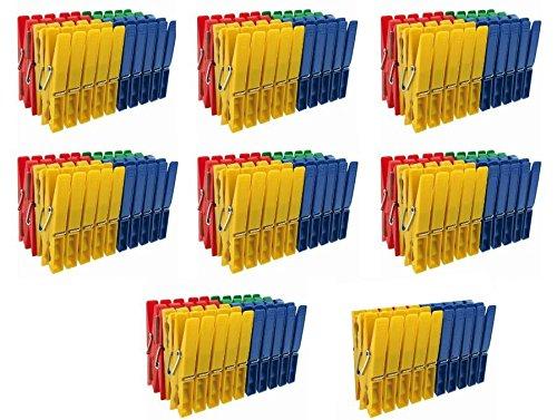 Wäscheklammern Kunststoffklammern 4-farbig 300 Stück