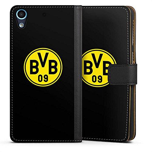 DeinDesign HTC Desire 626 Tasche Hülle Flip Case BVB Logo Borussia Dortm&