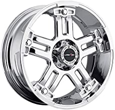 Vision 394 Warlord Wheel with Chrome Finish (22x9.5