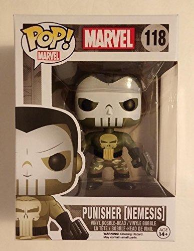POP! Funko Marvel Punisher Nemesis 118 Vinyl Bobble-Head by