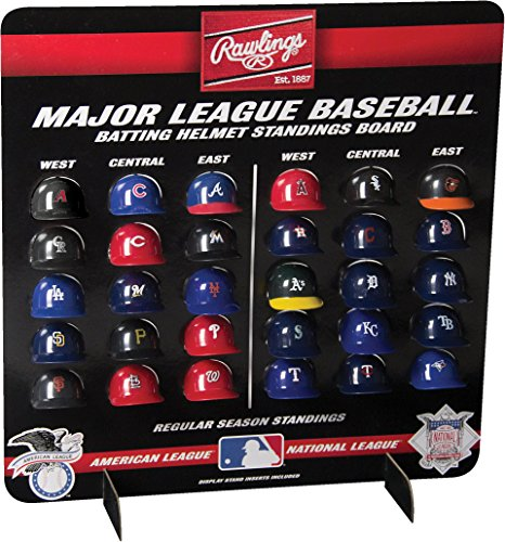 MLB Major League Baseball Deluxe Helmet Standings Board, Mini, Red