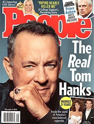 People Magazine December 9 2019 Tom Hanks Prince Andrew Jessica Simpson Kesha