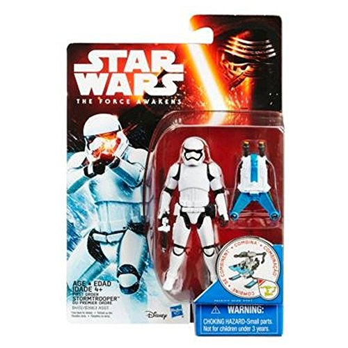 Star Wars The Force réveille 3.75Inch neige Mission Premier Ordre Stormtrooper Figure