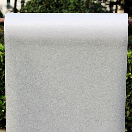 ljym88 200/300/400 / 500cm x 60CM Room Bagno Finestra di casa di Vetro Porta Privacy Pellicola Adesiva in PVC Satinato(5m)