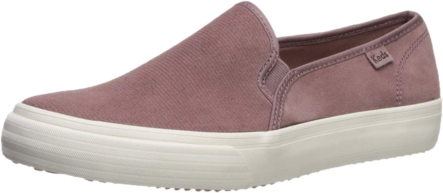 Damen Double Decker Perf Suede Turnschuh