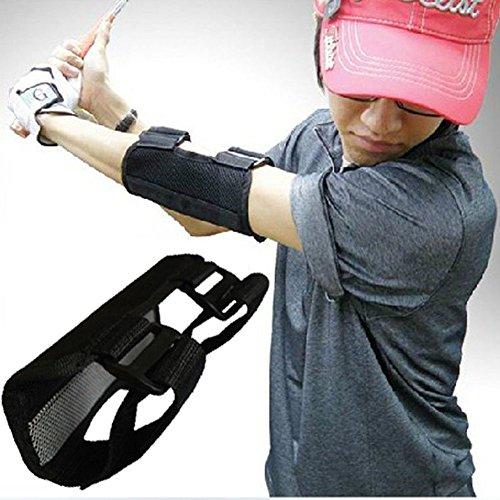 Alomejor Golf Übungswerkzeug hilft bei geraden Übungen Ellbogenschiene Schlagtrainer für Anfänger