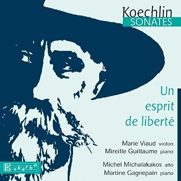 Koechlin: Sonates