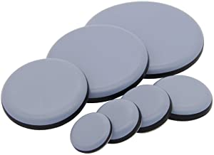 16 stuks teflengte geleiders Ø 19, 22, 25, 30, 40, 50, 63 mm zelfklevend 50 mm grijs