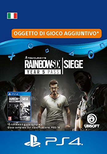 Tom Clancy's Rainbow Six Siege Year 5 Pass | Codice download per PS4 - Account italiano