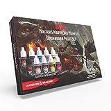 The Army Painter I Dungeons and Dragons Nolzur's Marvelous Pigments Underdark Paint Set I 10 Pinturas Acrílicas I para la Pintura de Figuras Miniatura y Juego de rol, Juego de Guerra y Wargames.