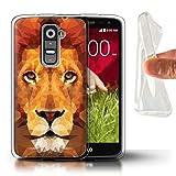 Stuff4 Phone Case for LG G2 Mini/D620 Geometric Animal