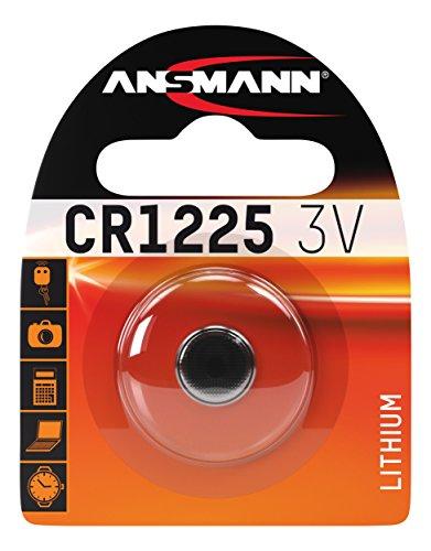 ANSMANN 1516-0008 Knofpzelle Batterie Lithium CR 1225 - 3V