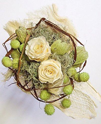 Blumenstrauß EVER ROSE / Rosenstrauß/ Blumendekoration/ Trockengesteck/ Trockenstrauß/Geburtstag/ Hochzeit/ Naturdeko/ Lifestyle Deko/ Muttertag