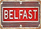 HMS Belfast Blechschild Retro Blech Metall Schilder Poster