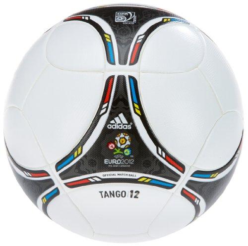 Adidas Fußball EURO Top, white/black, 5, X16857
