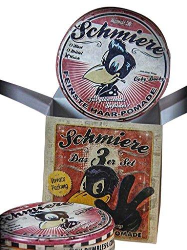 Schmiere - Lot de 3 pommade brillant/doux – Pommade from Rumble59.