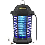 5. HEMIUA Bug Zapper Pro Outdoor Patio Mosquito Killer - Insect Killer Fly Pests Attractant Trap for Outdoor and Indoor Hangable Black