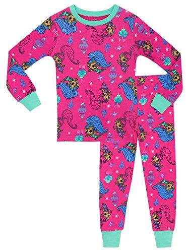 Shimmer & Shine Mädchen Schlafanzug Rosa 104