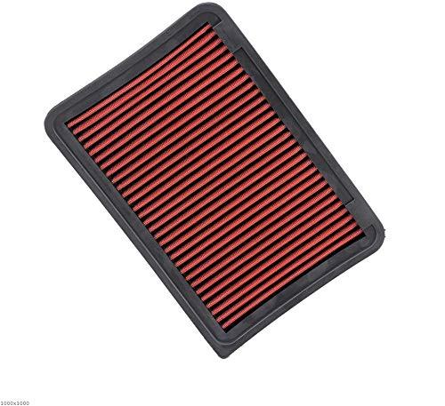 NLLeZ 1 UNID DE Rendimiento DE Coches Filtro DE Aire HOBLE FIT para Toyota VENZA Camry Lexus ES250 ES350H Inmeso de Aire Reutilizable Lavable XH-AF0208