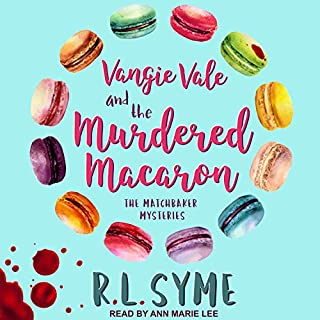 Vangie Vale and the Murdered Macaron cover art