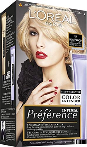 Loreal Preference 9 hollywood zeer licht blond - 1set