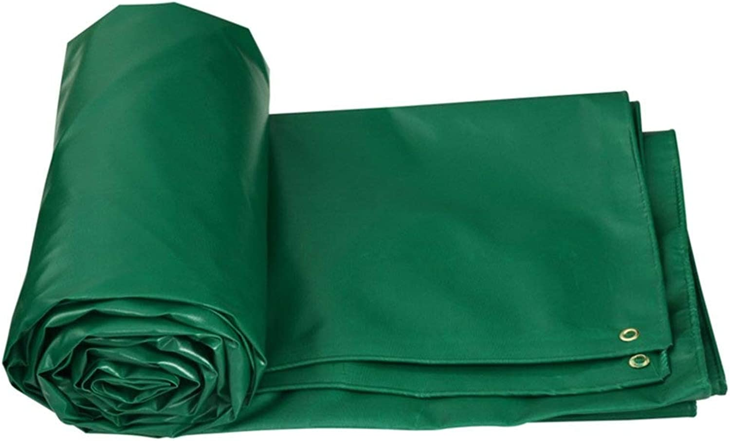 Waterproof Tarpaulin, Tarp Ground Sheet Cover Tent Shelter Thicken PVC Heavy Duty, 5 colors, 520G M2 GAOFENG (color   Green, Size   4x5M)