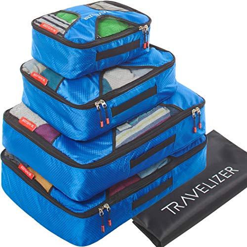 Travelizer - Travel Packing Cubes 5 pcs Luggage...