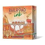 Asmodee - Railroad Ink: Edición rojo abrasador - Español