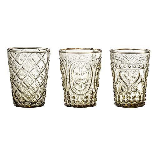 Bloomingville Trinkglas Lassi, braun, recyceltes Glas