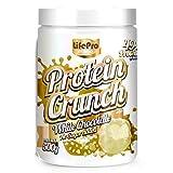 Life Pro Fit Food Protein Crunch 500g. Cereales Proteicos. Bolitas de Proteína Varios sabores. Bajo en Hidratos. Cuida tu alimentación. Hecho en España. (WHITE CHOCOLATE)