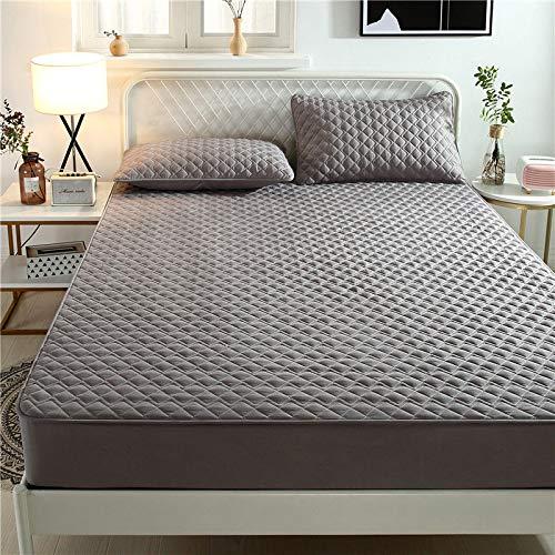 haiba sábana de una sola pieza cubierta protectora de colchón, cubierta de polvo antideslizante 180x200cm+20cm