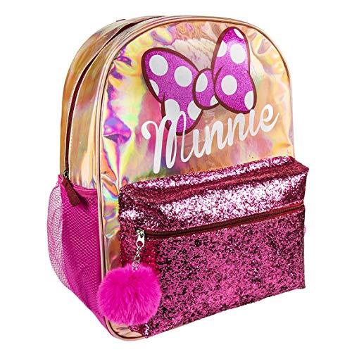 ARTESANIA CERDA Moda Minnie - Mochila Casual, 40 cm, Rosa