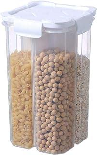 Compartiment du réservoir de stockage des aliments Réservoir scellé transparent Compartiment carré Réservoir de stockage d...